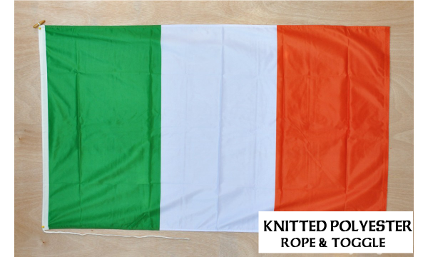 Ireland Knitted Polyester Flag