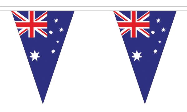 Australia Bunting Triangular