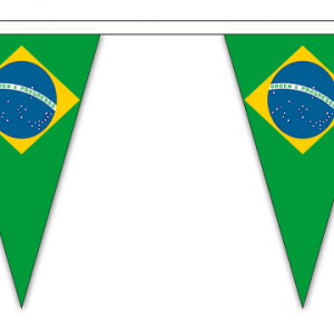 Brazil Bunting Triangular