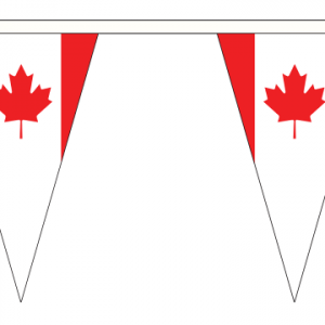 Canada Bunting Triangular