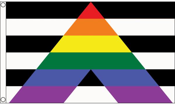 Straight-Ally Flag