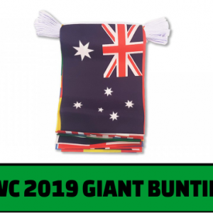 Rugby World Cup Giant Bunting