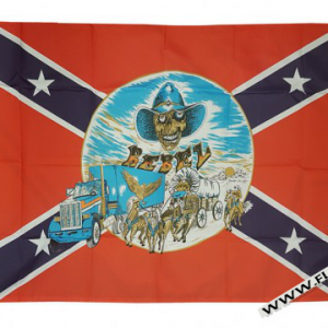 Rebel Buggy Flag