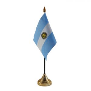 Argentina Table Flag