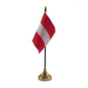 Austria Table Flag