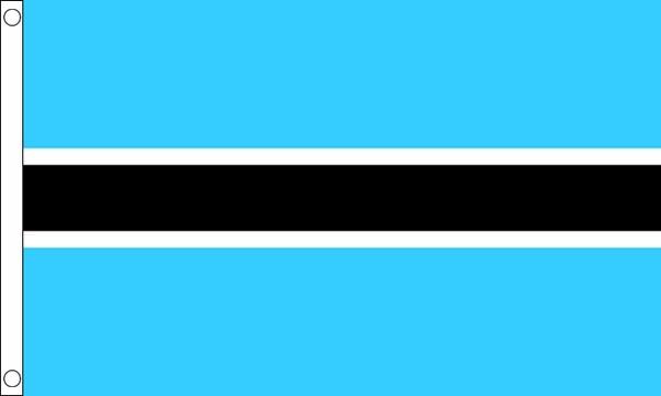 Botswana Flag For Sale From Flagman Buy Botswana Flags