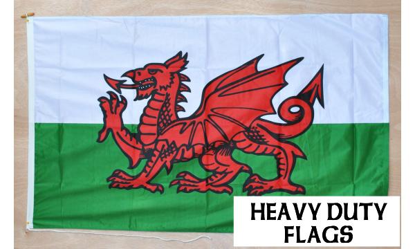 Wales Heavy Duty Flag