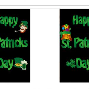 Happy St Patricks Day Giant Bunting