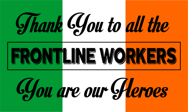 Frontline Workers Thank You Flag