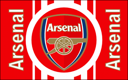 Arsenal Football Club Flag