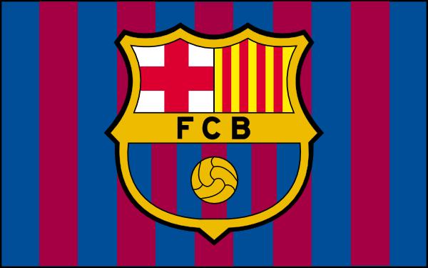 Barcelona Football Club Flag