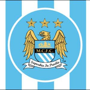 Manchester-City Football Club Flag