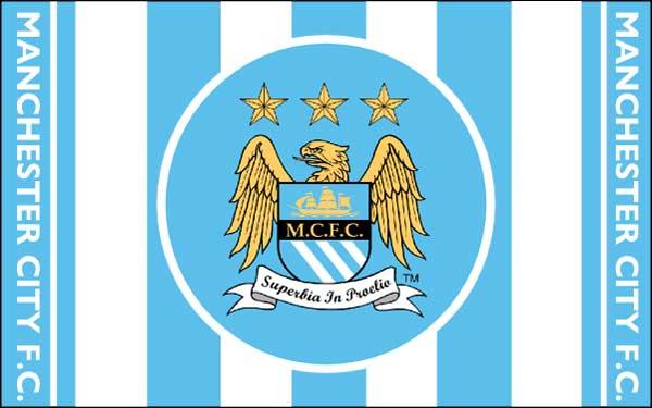 Manchester-City Football Club Flag