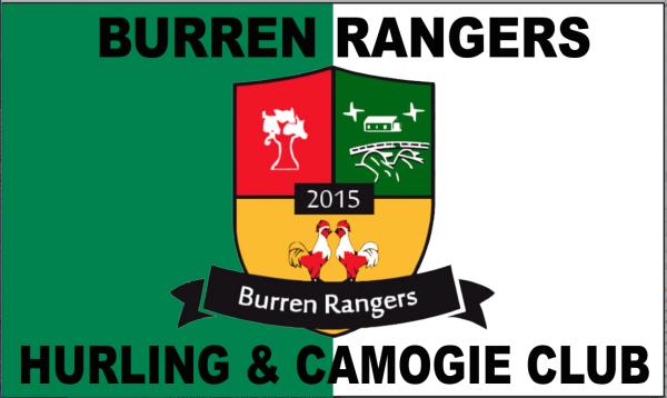 Burren Rangers Custom Flag