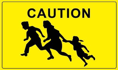 Caution-Children-Crossing-Flag