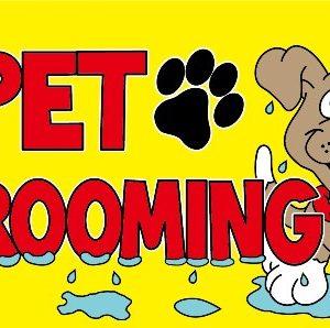 Pet Grooming Flag