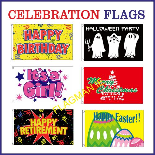 Celebration Flags