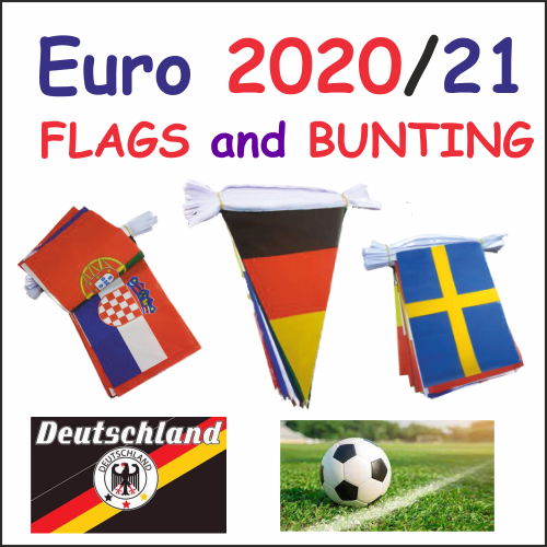 Euro 2020/21 Flags and Bunting