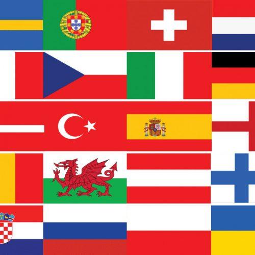 Euro 2020/2021 Flags