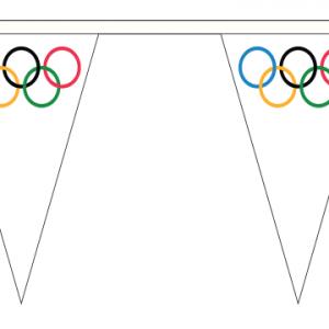 Olympic Bunting Triangular