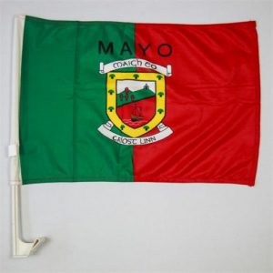 Mayo Gaa Car Flags